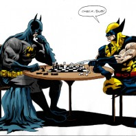 batman_vs_wolverine_at_chess_by_sinakazemian